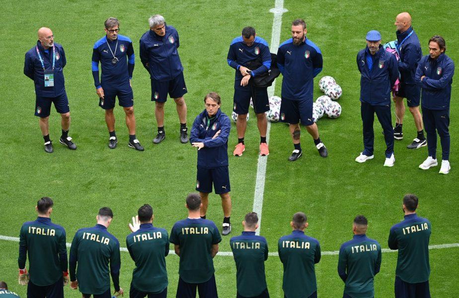 EURO 2020 | Cum a fost transformată Italia de un fost bancher, care a lucrat şi la Dinamo + 10.000 de fani italieni la meciul cu Belgia
