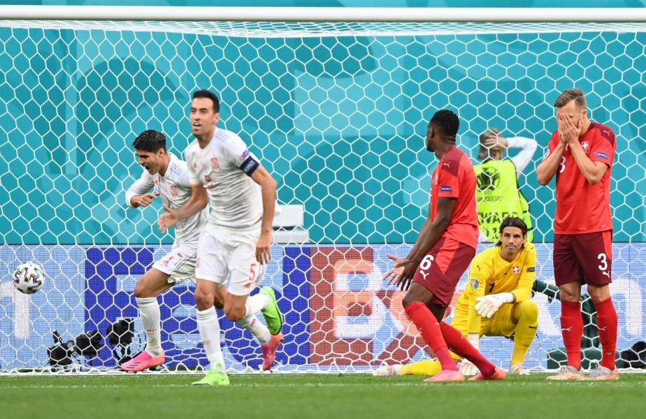 Spania a beneficiat de al treilea autogol la Euro 2020! + Cum s-a filmat Sergio Ramos la sfertul de finală cu Elveţia