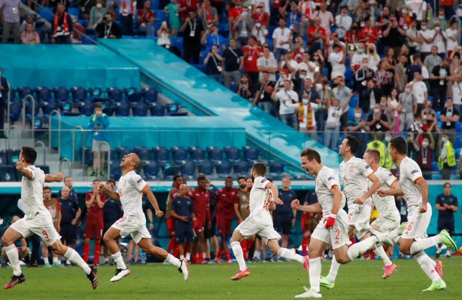 EURO 2020 | Elveţia – Spania 1-1 (1-3 d.l.d). Ibericii, în semifinale! Elveţia nu a repetat minunea de la Bucureşti. Cinci ratări la loviturile de departajare