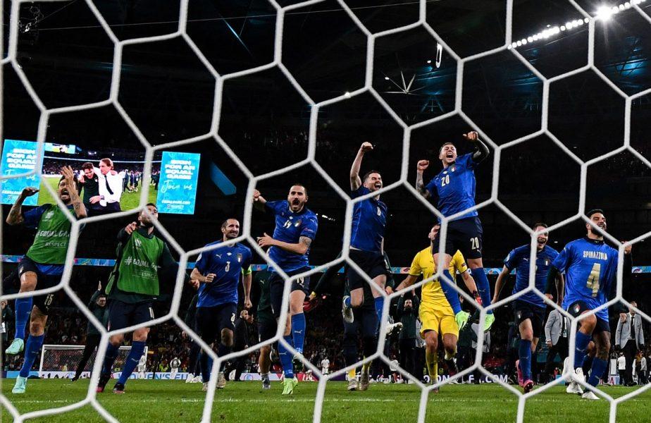 """Italia este prima finalistă de la EURO 2020! Meci colosal în semifinale cu Spania! Donnarumma, eroul """"Squadrei Azzurra"""". Cifre uluitoare ale italienilor cu Mancini selecţioner: """"Nimic nu e gata"""""""