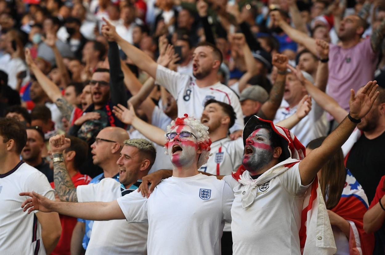 Anglia - Danemarca, în semifinalele Euro 2020 / Foto: Profimedia