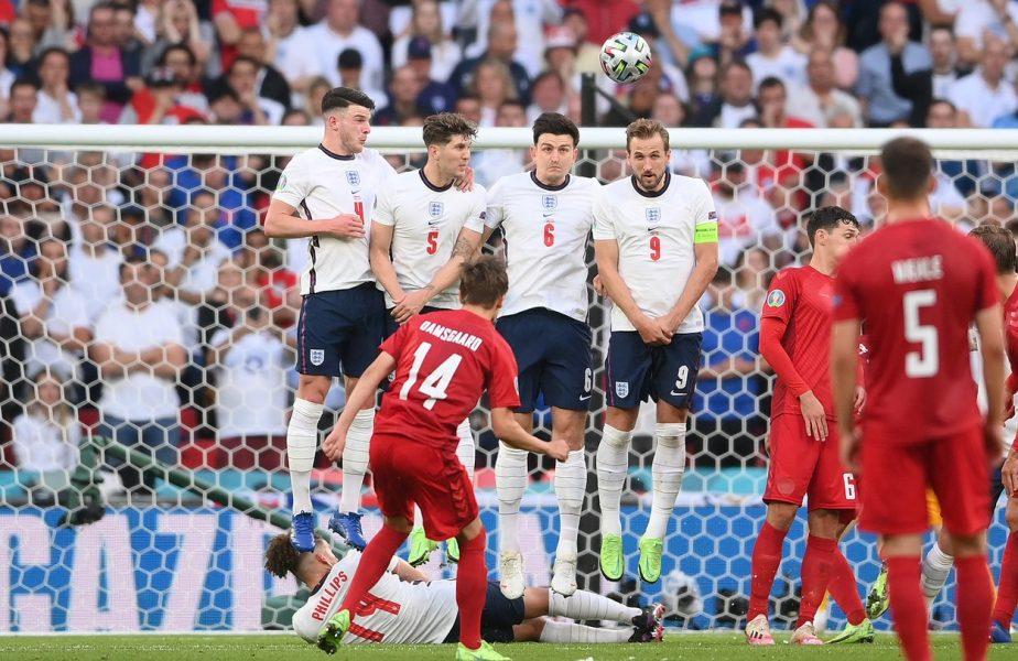 """Anglia a primit primul gol de la Euro 2020. """"Operă de artă!"""" Ce premieră au mai stabilit danezii + Am ajuns la 11 autogoluri la turneul final!"""