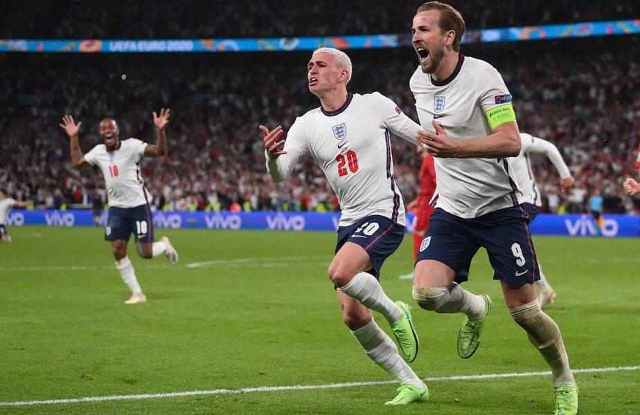EURO 2020 | Anglia – Danemarca 2-1 (prel.). Meci nebun pe Wembley! Țara în care s-a inventat fotbalul, în premieră în finala unui Campionat European