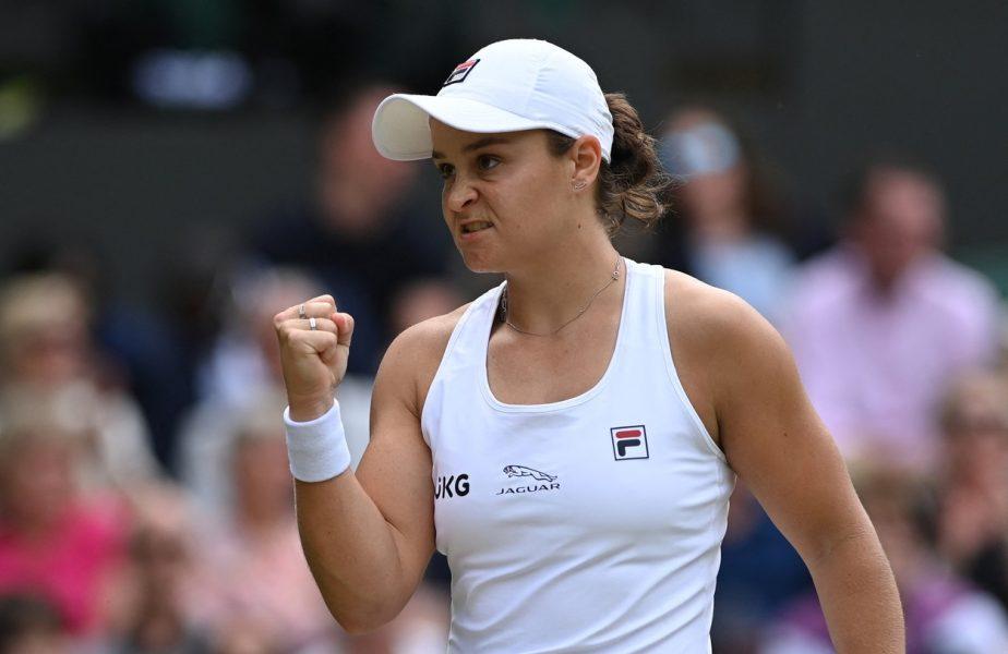 """Ashleigh Barty este prima finalistă de la Wimbledon. Angelique Kerber nu a avut nicio şansă. """"E ceva incredibil!"""""""