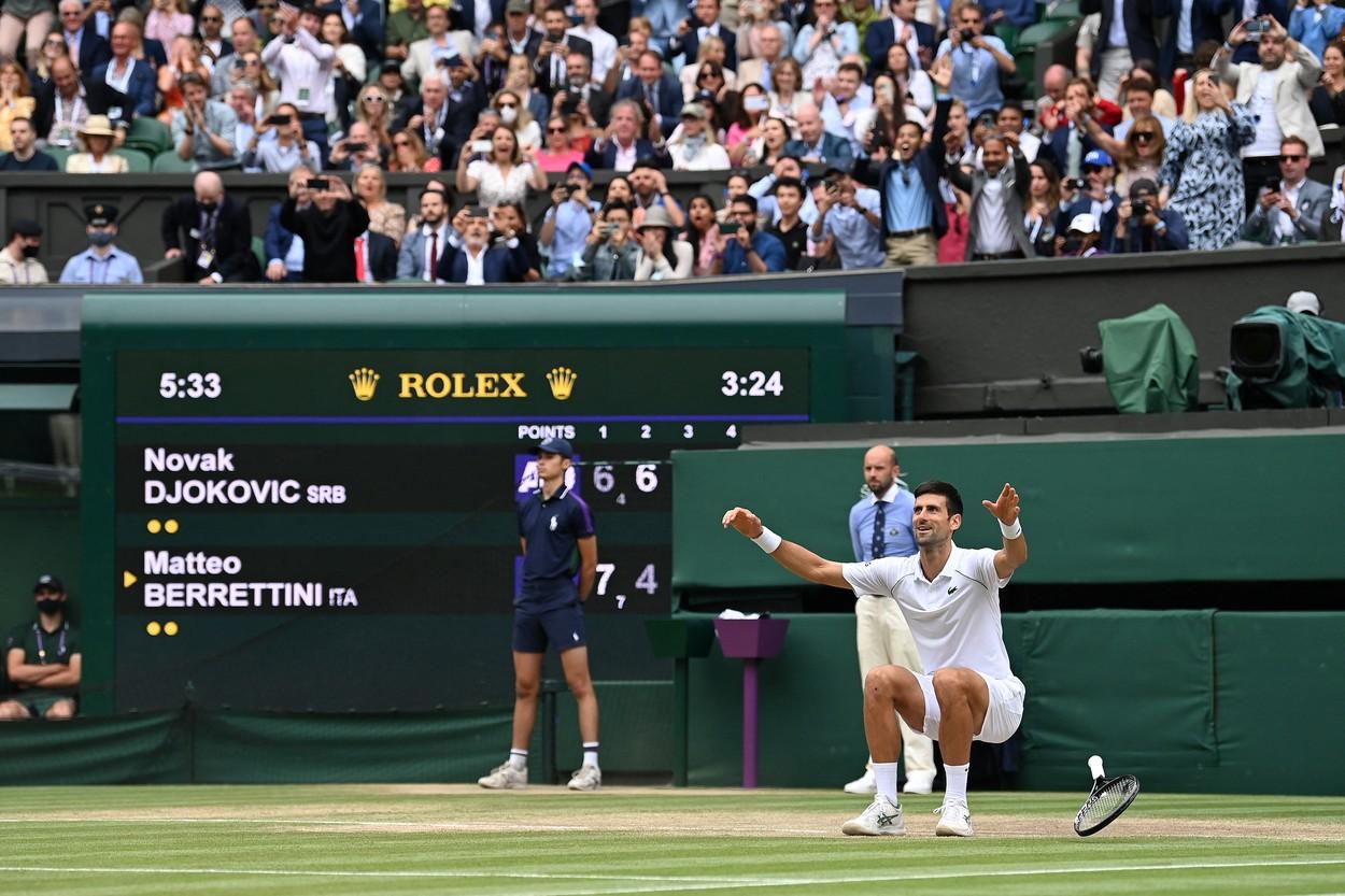 Novak Djokovic, campion Wimbledon 2021 / Profimedia