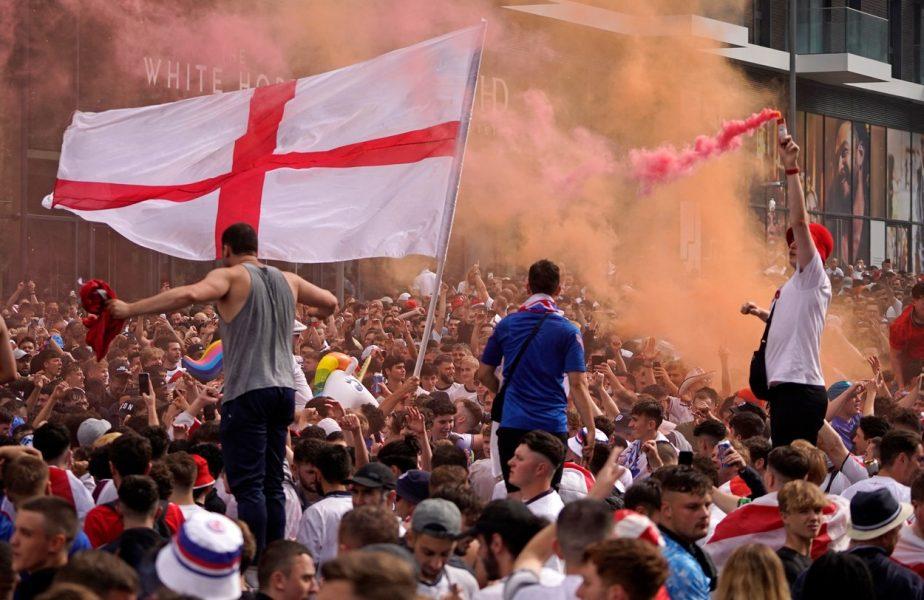 Interdicţii pe viaţă după finala Euro 2020. Incidentele provocate de fani pe Wembley, anchetate de Federaţia din Anglia