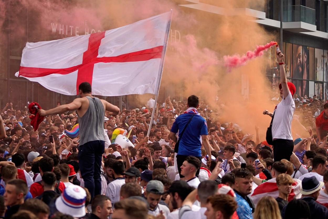 Fani Anglia, finala Euro 2020