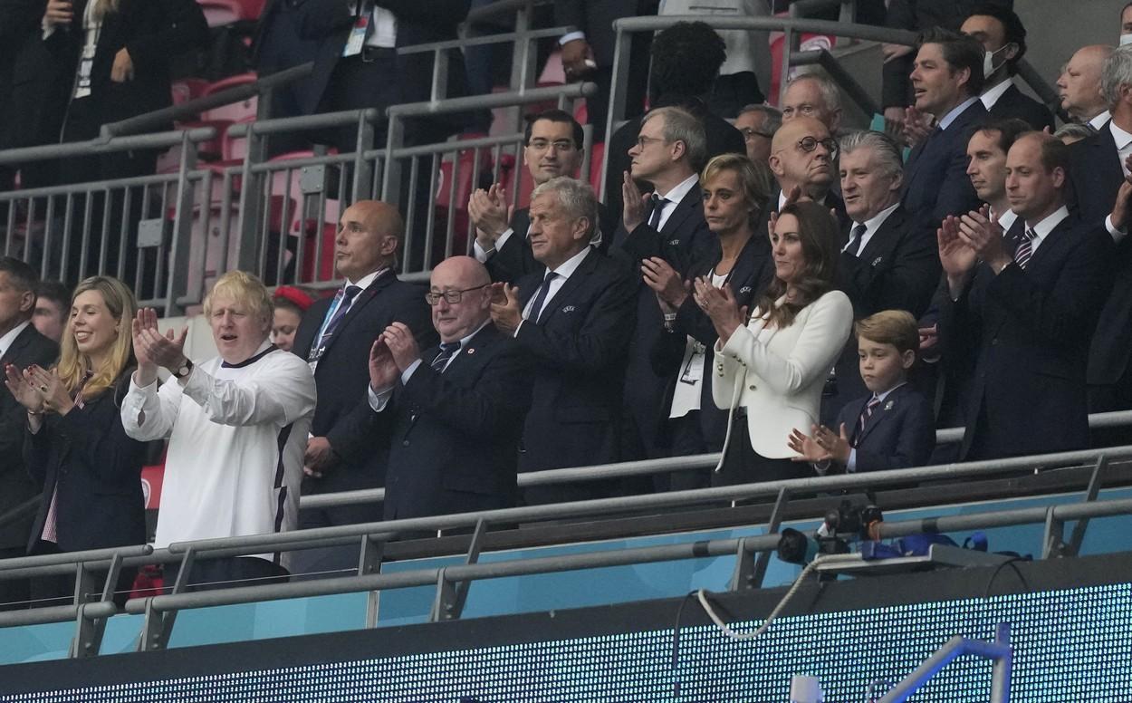 Răzvan Burleanu, lângă Prinţul William şi Kate Middleton