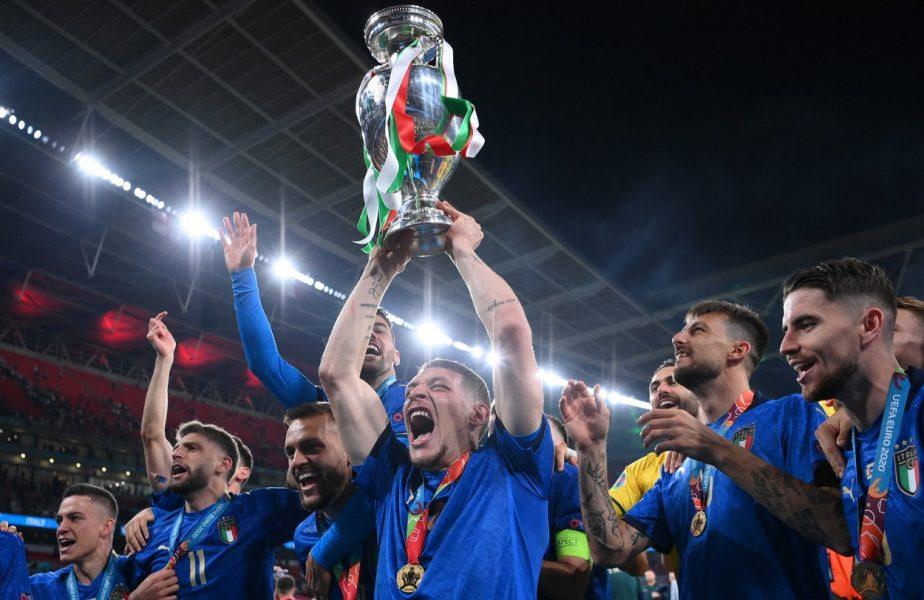 Un altfel de EURO 2020! Italia a câștigat 34.000.000 de euro!!!