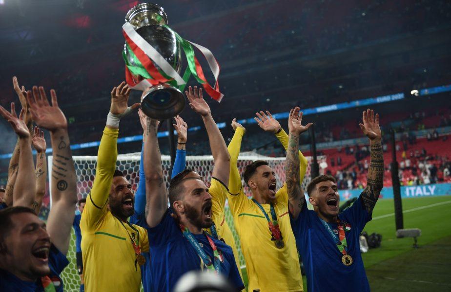 Suma uriaşă pe care o primeşte Italia, după ce a câştigat EURO 2020. Şi englezii vor încasa zeci de milioane de euro