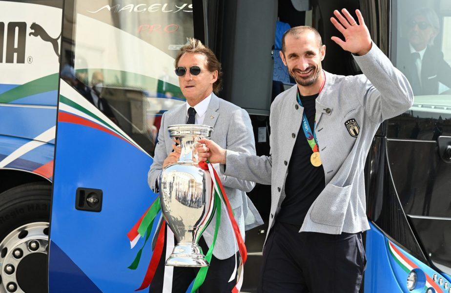 """Giorgio Chiellini, liber de contract după 16 ani la Juventus. """"Nu avem nicio ofertă. Ce a făcut el e incredibil!"""""""