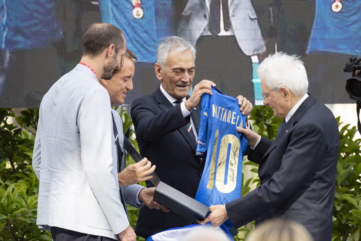 Sărbătoare pe străzile din Roma după ce Squadra Azzurra a câştigat EURO 2020