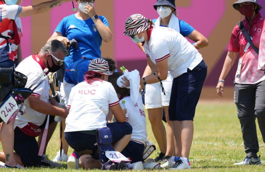 """Jocurile Olimpice 2020   O sportivă a leşinat la Tokyo din cauza caniculei: """"Este prima dată când văd că se întâmplă aşa ceva"""""""