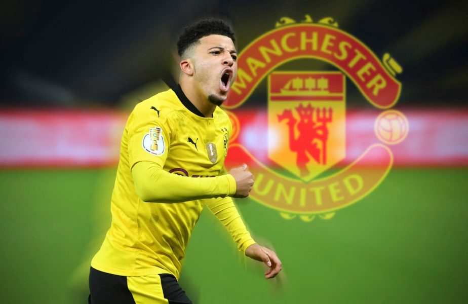 Jadon Sancho, transferat oficial de Manchester United