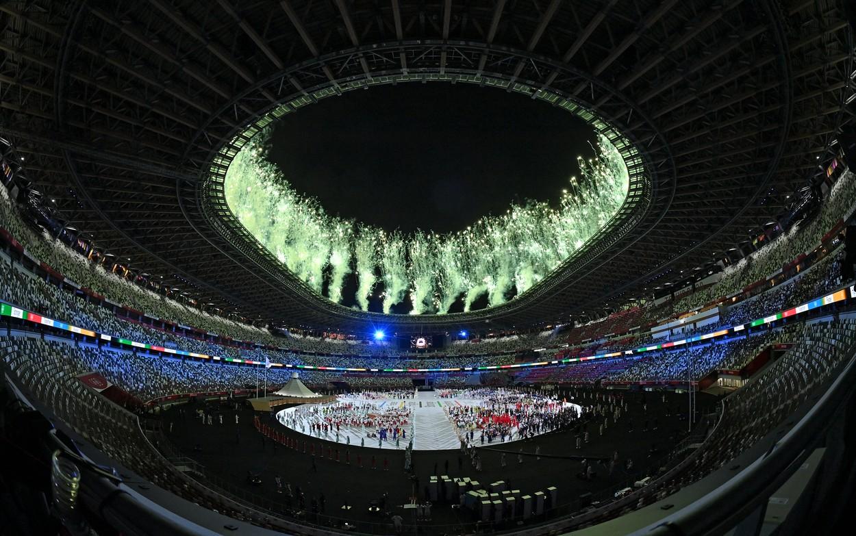Jocurile Olimpice 2020, ceremonia de deschidere / Foto: Profimedia