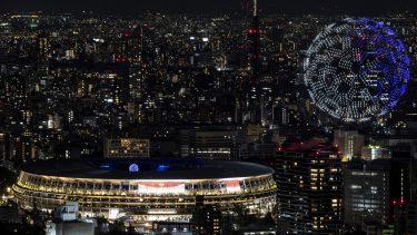Jocurile Olimpice 2020 | Moment uluitor la ceremonia de deschidere! 1.824 de drone, deasupra arenei din Tokyo
