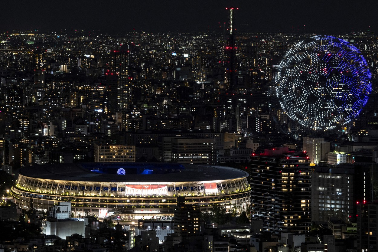 1.824 de drone, la ceremonia de deschidere de la Jocurile Olimpice 2020