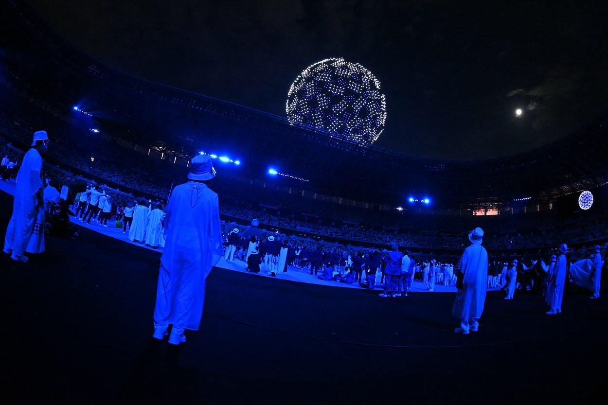 1.824 de drone la ceremonia de deschidere de la Jocurile Olimpice 2020 / Profimedia