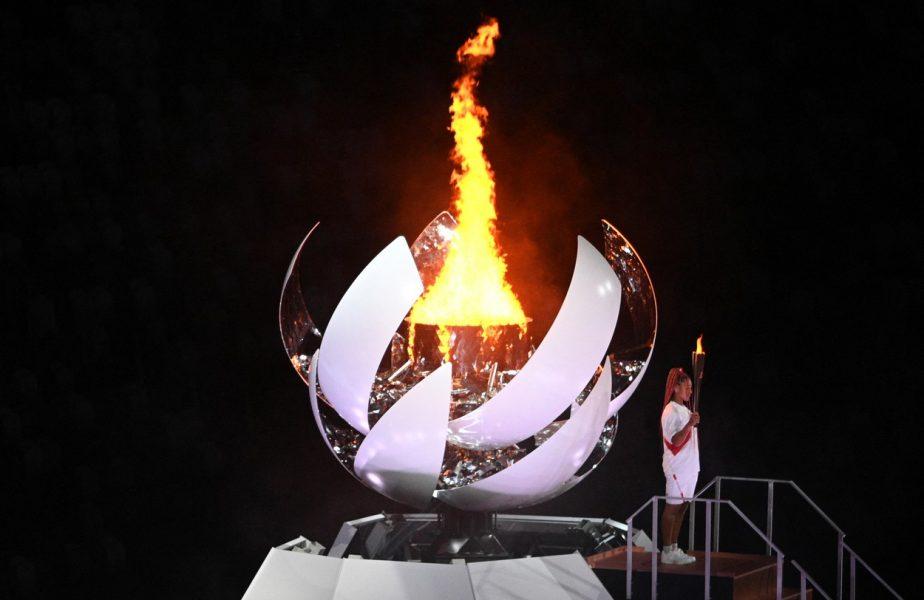 Jocurile Olimpice 2020 | Naomi Osaka a aprins flacăra olimpică. Ceremonie de 4 ore la Tokyo cu tribunele goale