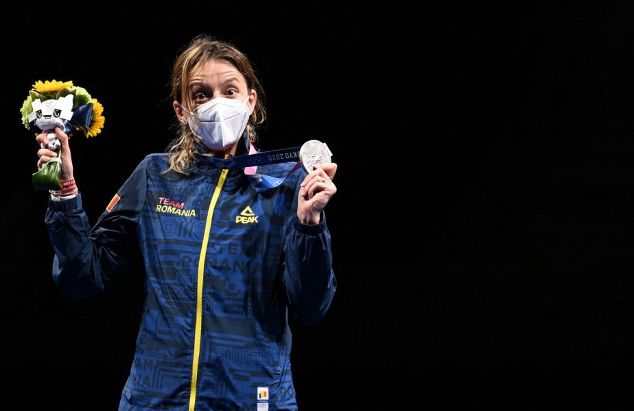 Ana Maria Popescu pe podium la Jocurile Olimpice 2020