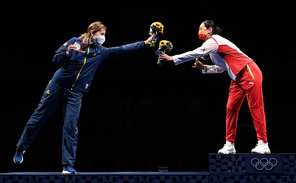 Ana Maria Popescu, medalie de argint la Jocurile Olimpice 2020