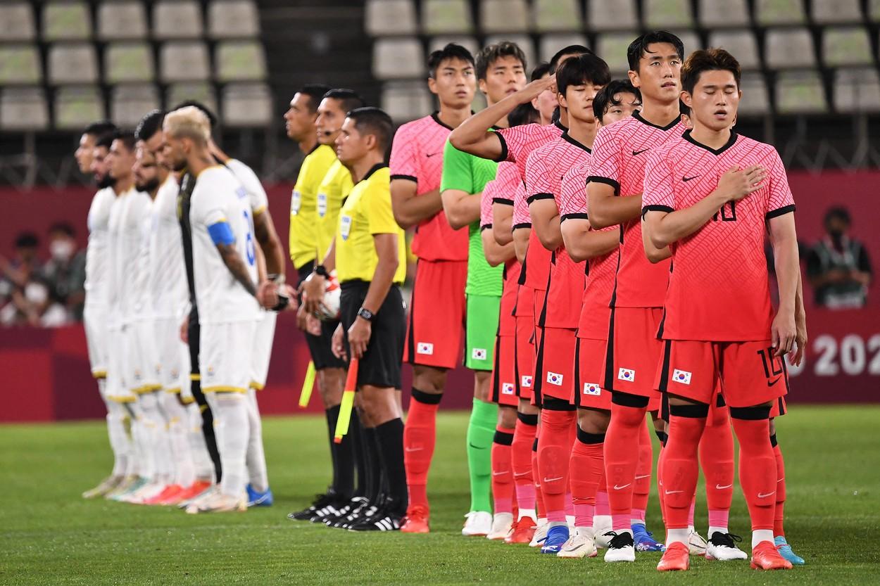 România Coreea de Sud, la Jocurile Olimpice 2020