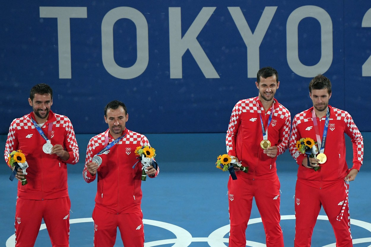 Moment viral la Tokyo după finala de dublu de la tenis / Profimedia