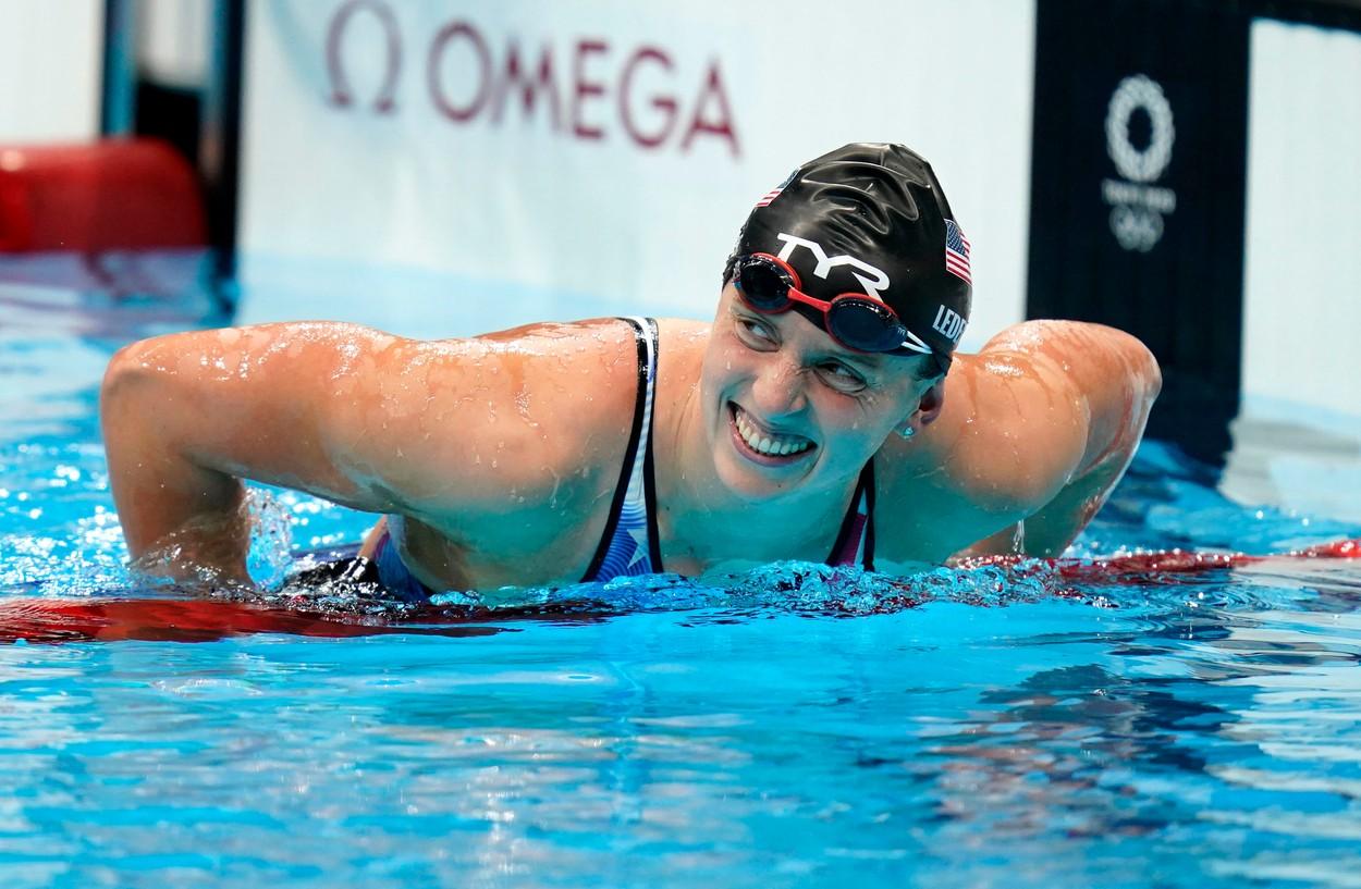 Jocurile Olimpice 2020   Katie Ledecky a scris istorie! A devenit cea mai titrată înotătoare la JO + Simone Biles s-a retras şi din finalele de sărituri şi paralele