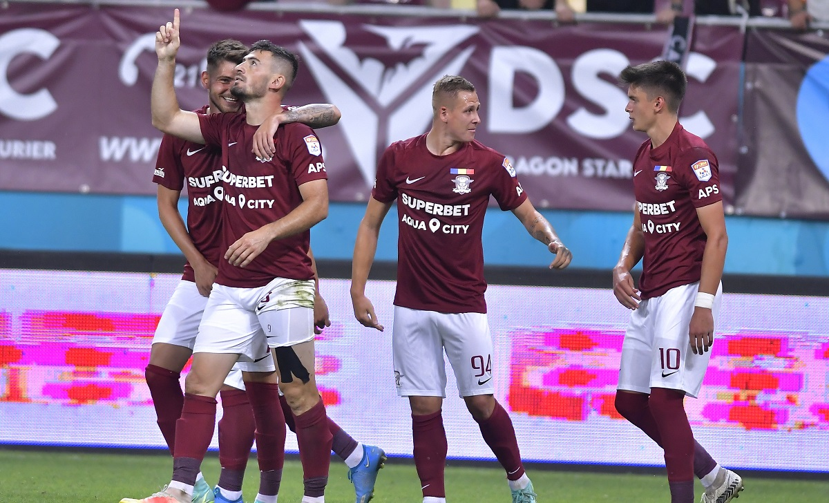 Rapid a învins-o cu 2-0 pe CS Mioveni