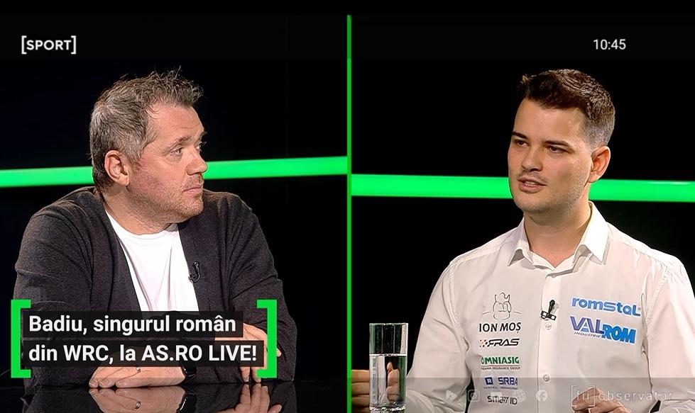 Raul Badiu a fost invitat la AS.ro LIVE