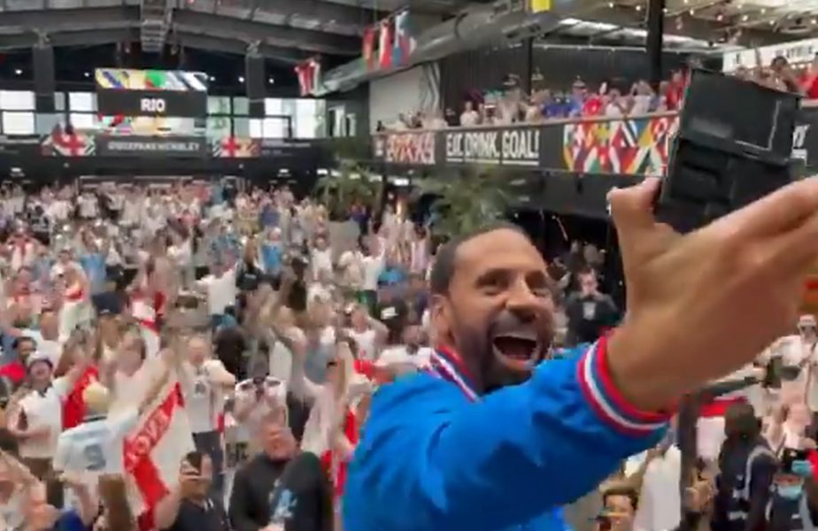 EURO 2020 | Rio Ferdinand, şef de galerie înainte de marea finală Italia – Anglia! Imagini fabuloase cu legenda lui Manchester United. A făcut show pe străzile din Londra!