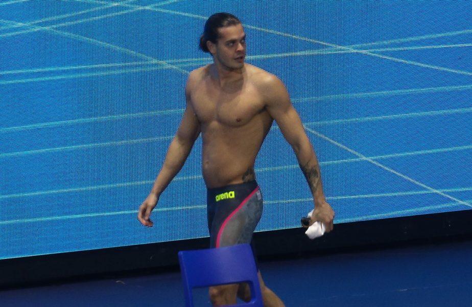 """Jocurile Olimpice 2020   Robert Glinţă s-a calificat în finala de la 100 de metri spate: """"Nu sunt deloc mulțumit de felul în care am înotat la această ediție"""""""