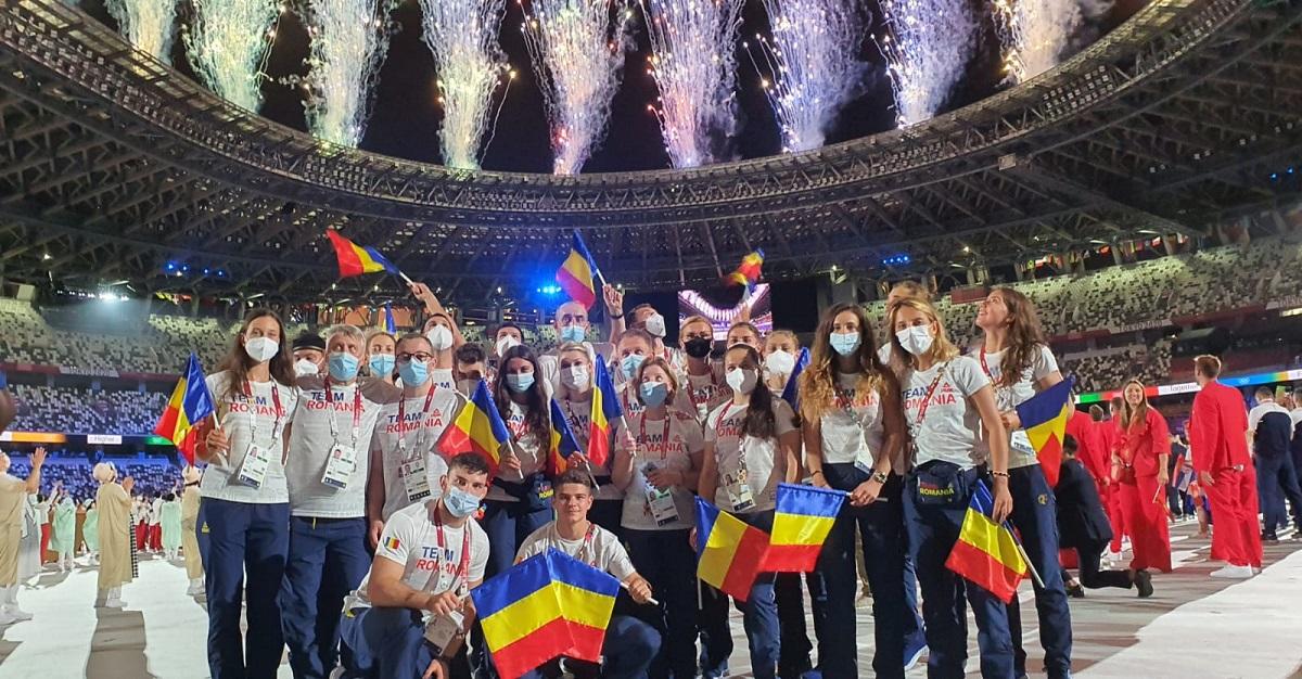 Români la JO 2020, ceremonia de deschidere