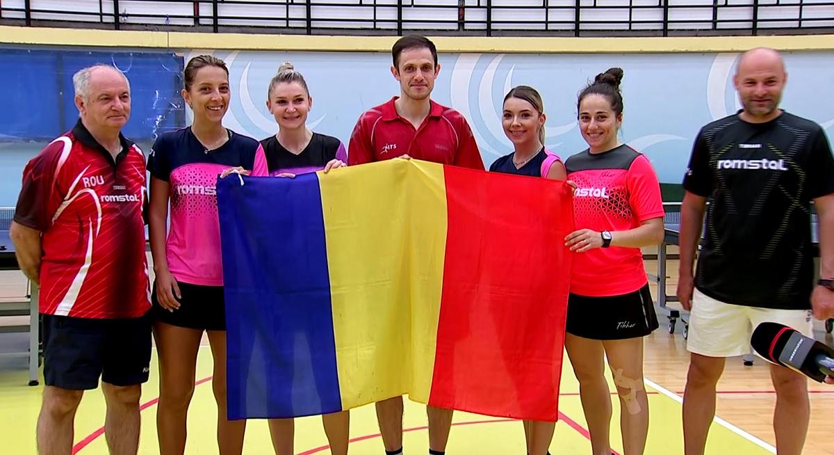 """ROMÂNII DE AUR! """"Chinezoaicele"""" Europei la tenis de masă! Eliza Samara și Bernadette Szocs promit să vină cu medalii de la Tokyo"""