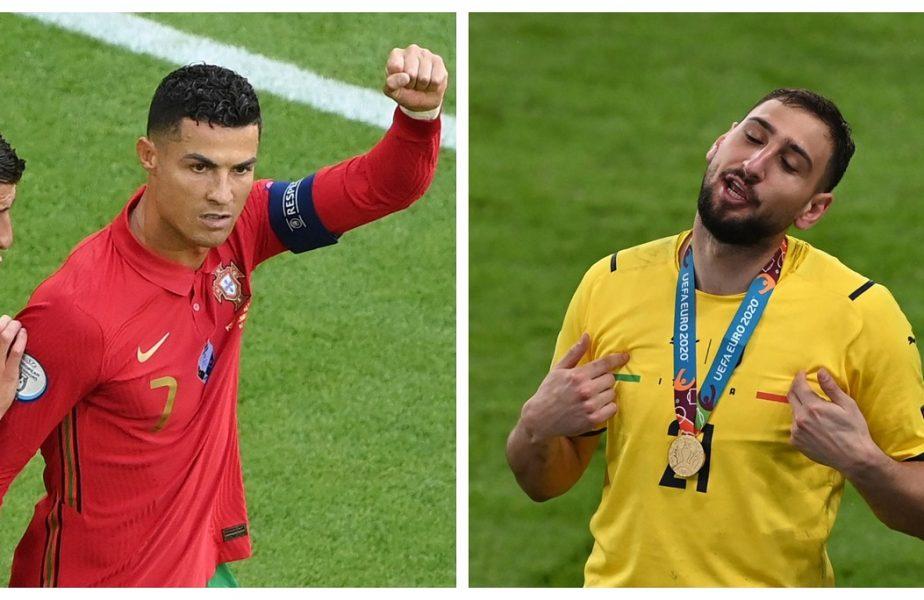 Specialiștii au anunțat echipa turneului la Euro 2020! Cristiano Ronaldo și Gigio Donnarumma, marii absenți