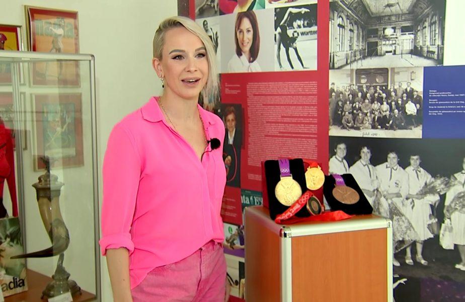 ROMÂNII DE AUR | Sandra Izbaşa are aşteptări uriaşe de la Larisa Iordache şi Maria Holbură. Ce le-a transmis înaintea Jocurilor Olimpice de la Tokyo!