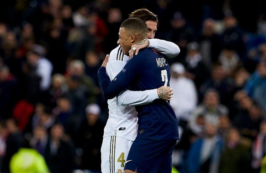 """Sergio Ramos îl sfătuieşte pe Kylian Mbappe să rămână la PSG. """"Îl vreau aici, chiar dacă Real Madrid e una dintre cele mai bune echipe"""". Ce spune despre posibila venire a lui Messi"""