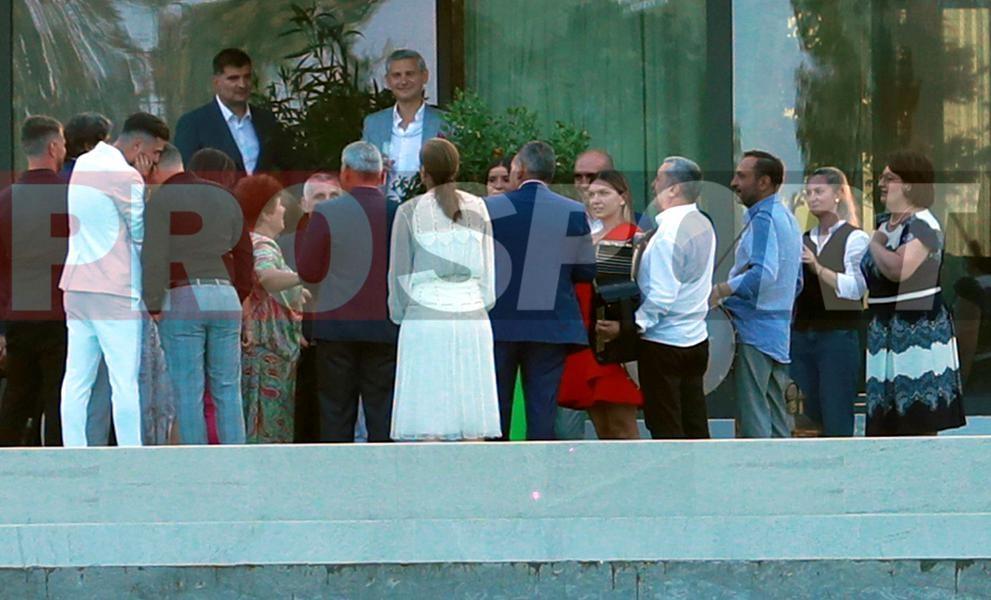 Imagini de la nunta Simonei Halep
