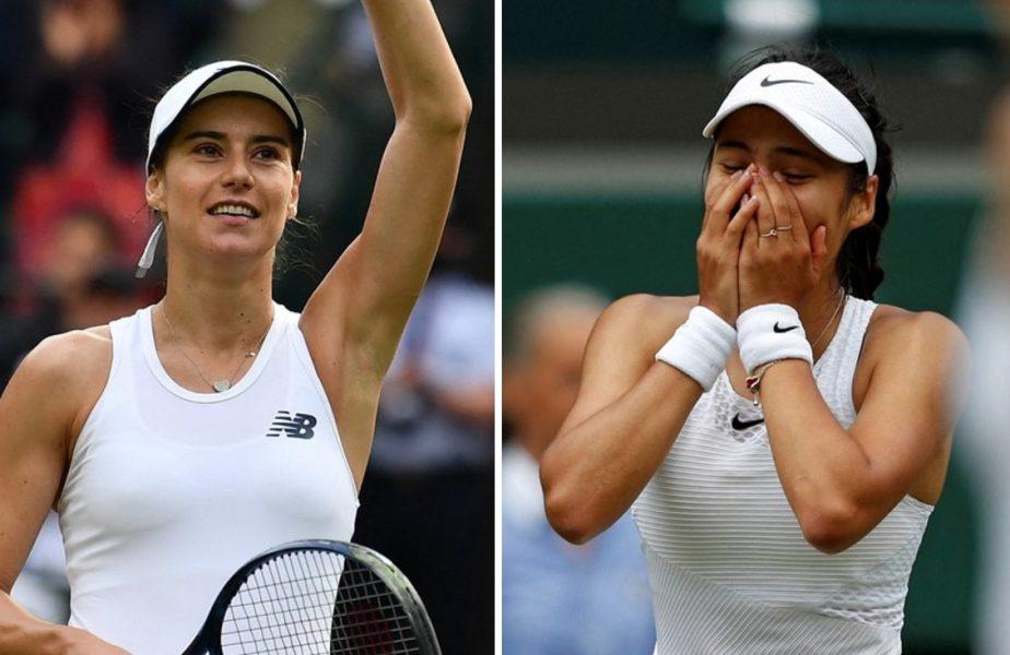 Wimbledon 2021 | Sorana Cîrstea – Emma Răducanu 3-6, 5-7. Victorie uimitoare pentru jucătoarea cu origini româneşti. Cu cine va juca mai departe debutanta de 18 ani