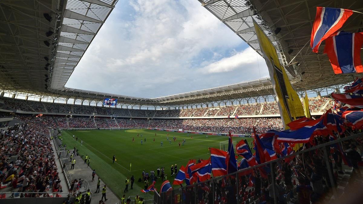 Imagine de la stadionul Steaua