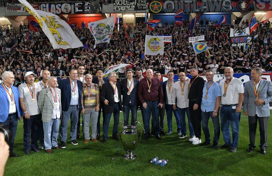 Campionii de la Sevilla, pe noul stadion Ghencea