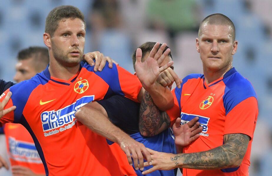Gafe în lanţ ale jucătorilor lui Dinu Todoran, demne de Radio Erevan. FCSB, taxată în prelungiri de Şahtior Karagandy. Stipe Vucur a comis-o!