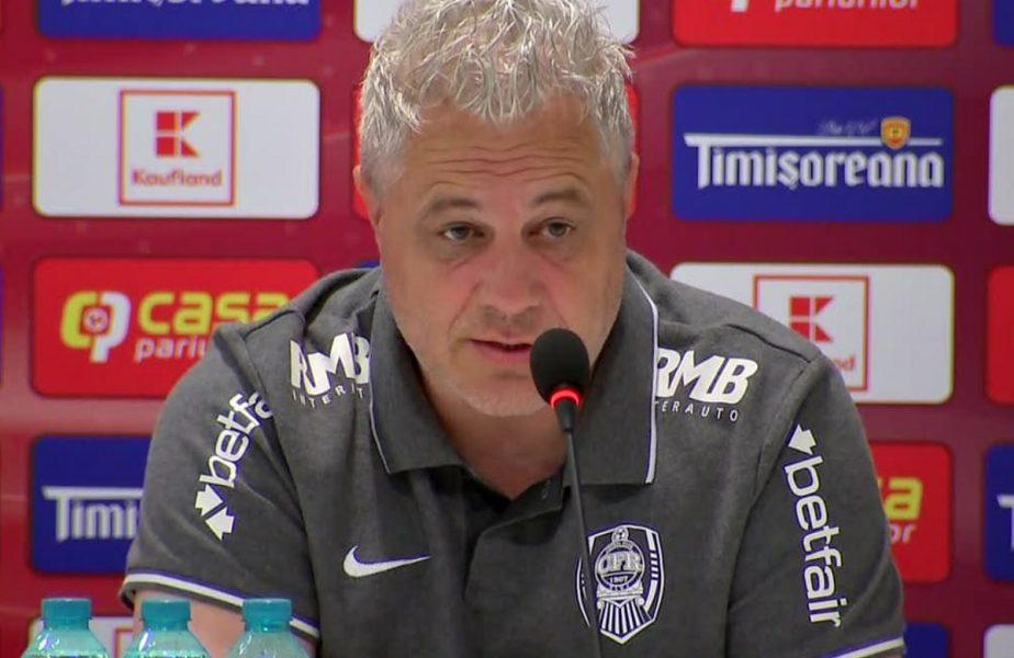 """""""Aş alege să mă calific şi să pierd Supercupa!"""" Marius Șumudică, sincer înaintea meciului cu Universitatea Craiova: """"Eu vreau să fac bani"""""""