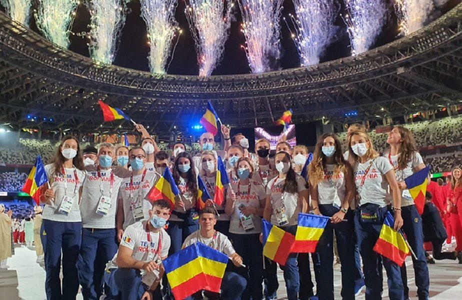 """Jocurile Olimpice 2020   """"Am avut mari emoţii!"""" Simona Radiş, mesaj impresionant după ce a purtat drapelul României. """"Naţiunea noastră este puternică!"""""""