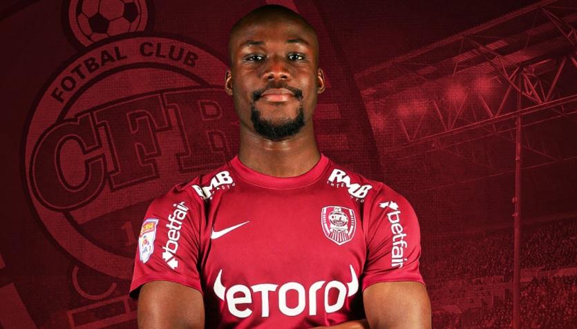 Oficial | Ulrich Meleke a semnat cu CFR Cluj! Încă o lovitură pentru Marius Şumudică