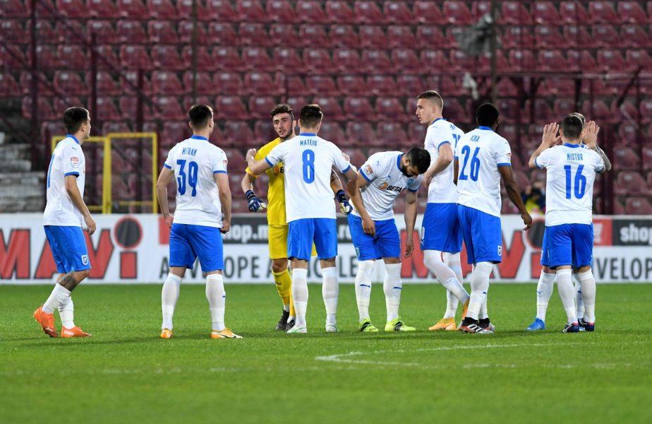 KF Laci – Universitatea Craiova 1-0. Oltenii, o nouă ruşine istorică! Jucătorii lui Ouzounidis au fost învinşi în Albania şi sunt la un pas de eliminarea din UEFA Conference League