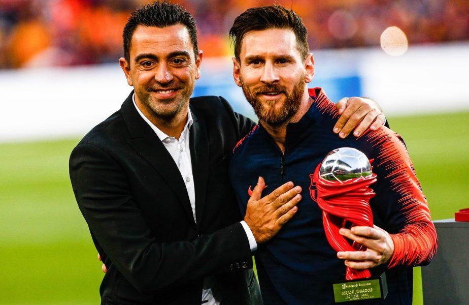"""Legendarul Xavi îi linişteşte pe fanii Barcelonei: """"Leo are nevoie de Barca, iar Barca de Messi!"""" Marele jucător al catalanilor """"pariază"""" că argentinianul va semna un nou contract"""