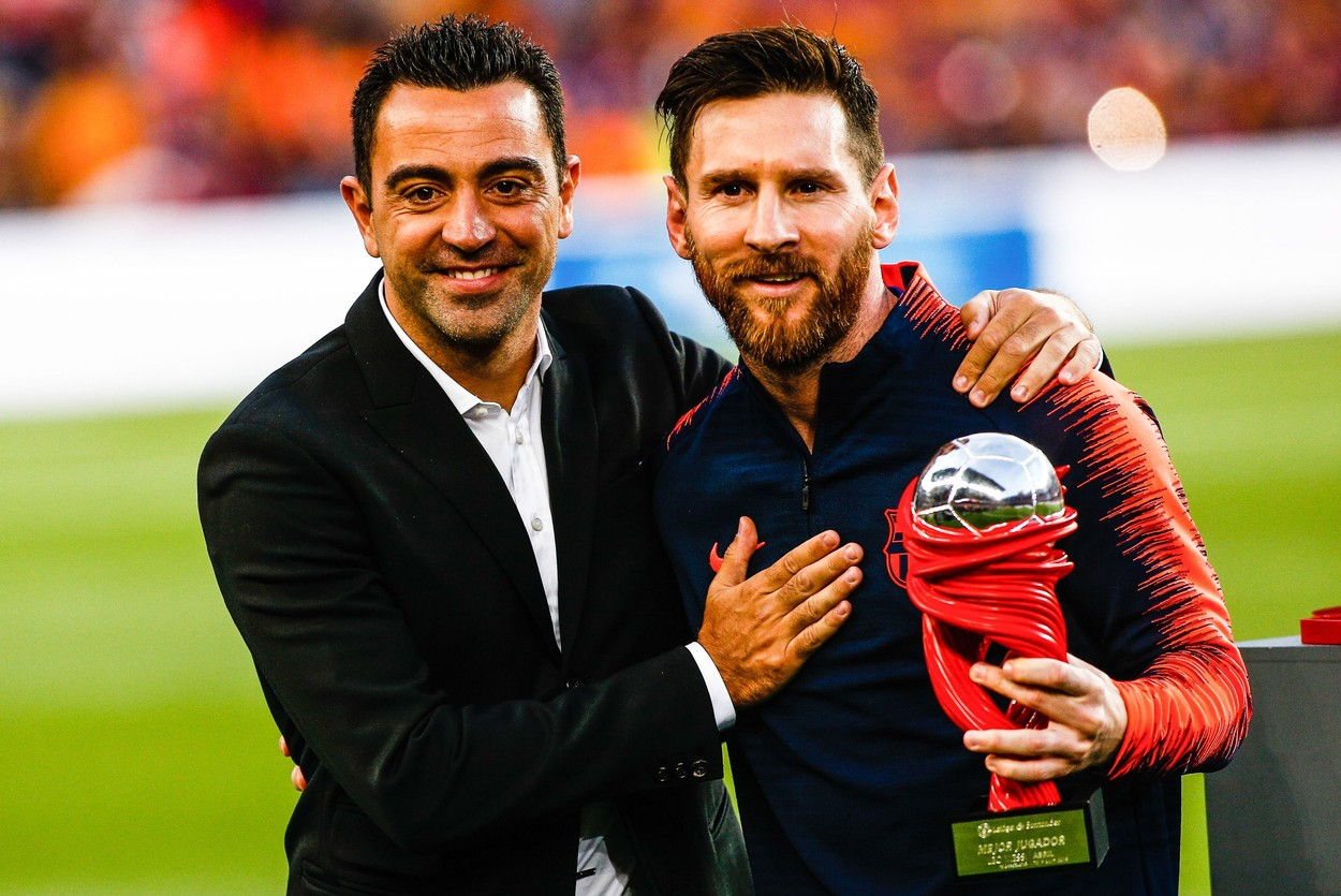 Xavi şi Messi