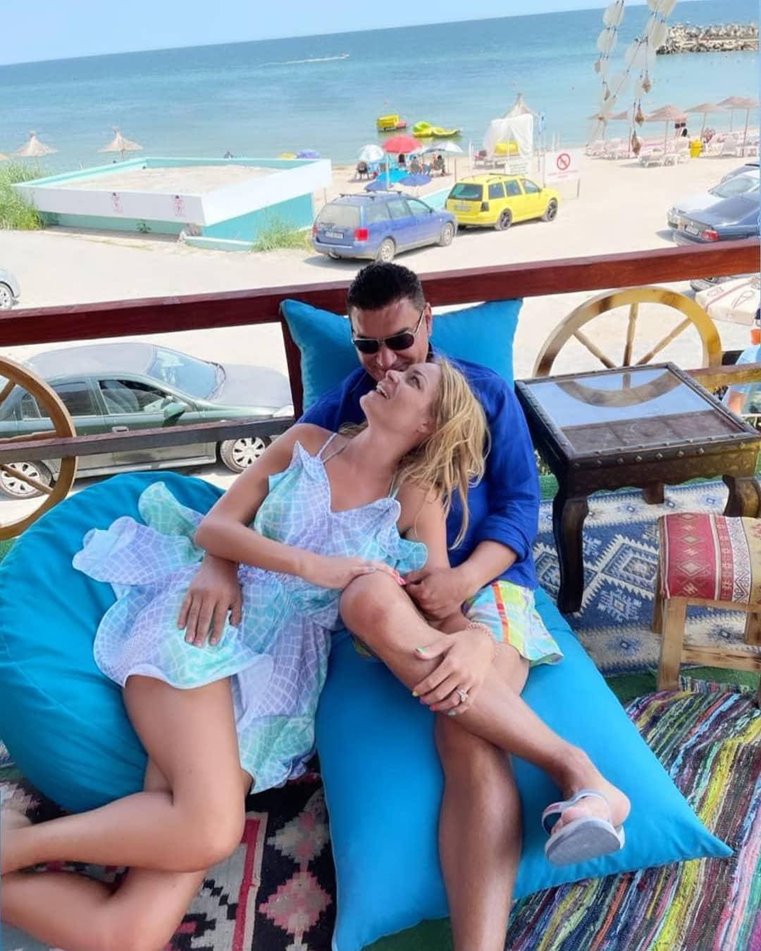 Cristi Borcea şi Valentina Pelinel se distrează în Olimp