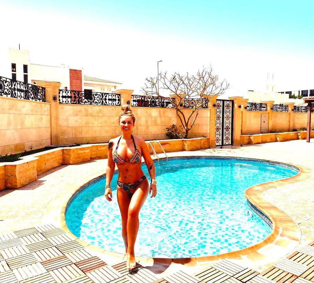 Anamaria Prodan este în Dubai
